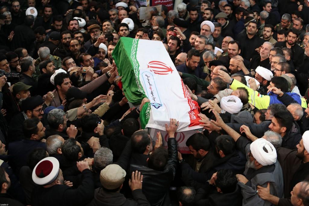 مراسم تشییع و اقامه نماز بر پیکر سردار بزرگ سپهبد شهید حاج قاسم سلیمانی و شهیدان مقاومت